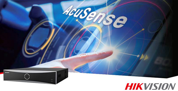 HIKVISION AcuSense технология с вграден DEEP LEARNING алгоритъм
