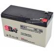 Оловна акумулаторна батерия за UPS и алармени системи - StraBat, 12V, 7Ah