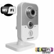 Безжична Wi-Fi мрежова IP камера HIKVISION DS-2CD2420F-IW - 2 мегапиксела, Обектив: 2.8 mm, вграден микрофон и говорител