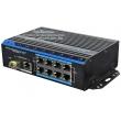 UTEPO UTP7208E-POE-A1: 10 портов суич с 8 x 10/100 Mbps PoE порта за IP камери + 2 x 1 Gbps uplink порта /1 cooper + 1 SPF 1 Gbps/
