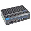 UTEPO UTP7204E-POE-A1: 6 портов суич с 4 x 10/100 Mbps PoE порта за IP камери + 2 x 10/100 Mbps uplink порта /1 cooper + 1 SPF/