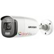 HD-TVI/AHD/CVI/CVBS камера HIKVISION DS-2CE12DFT-F: 2 мегапиксела 1920x1080 px. С вградено бяло LED осветление до 40 метра ColorVu и Ultra Low Light технология