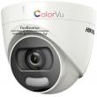 HD-TVI/AHD/CVI/CVBS камера HIKVISION DS-2CE72DFT-F: 2 мегапиксела 1920x1080 px. С вградено бяло LED осветление до 20 метра ColorVu и Ultra Low Light технология