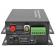 Комплект приемник и предавател за пренос на 1 видеосигнал по оптичен кабел до 20 км HANDAR HD-AHD-1V1D-T/RF: 4 в 1 - поддържа HD-TVI/AHD/CVI/CVBS камери