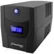 Непрекъсваемо токозахранващо устройство /UPS/ Line Interactive, симулирана синусоида: PowerWalker VI1500STL, 1500VA 900 Watt Max, USB, 4xSchuko контакта, 2 Батерии 12V/7.2 Ah