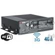 4 канален мобилен HD-TVI цифров видеорекордер за видеонаблюдение и запис в превозни средства: HIKVISION DS-MP5504/GLF/WI58 - 2 мегапиксела, с вграден 3G и 4G модул и Wi-Fi модул