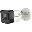 HD-TVI/AHD/CVI/CVBS камера HIKVISION DS-2CE16D0T-ITFS: 2 мегапиксела 1920x1080 px, Обектив: фиксиран 3.6 mm, Вграден микрофон Audio Over Coaxial