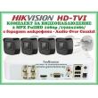 КОМПЛЕКТ ЗА ВИДЕОНАБЛЮДЕНИЕ - 2 мегапиксела FullHD 1080p, с 4 инфрачервени корпусни камери за външен и вътрешен монтаж с вградени микрофони /Audio Over Coaxial/
