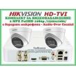 КОМПЛЕКТ ЗА ВИДЕОНАБЛЮДЕНИЕ - 2 мегапиксела FullHD 1080p, с 2 инфрачервени куполни камери за външен и вътрешен монтаж с вградени микрофони /Audio Over Coaxial/