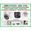 КОМПЛЕКТ ЗА ВИДЕОНАБЛЮДЕНИЕ - 2 мегапиксела FullHD 1080p, с 1 инфрачервена куполна и 1 корпусна камера за външен и вътрешен монтаж с вградени микрофони /Audio Over Coaxial/