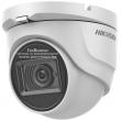 HD-TVI/AHD/CVI/CVBS куполна камера HIKVISION DS-2CE76H0T-ITMFS: 5 мегапиксела 2560x1944 px, Обектив: фиксиран 2.8 mm, Вграден микрофон Audio Over Coaxial