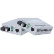 Медиа конвертор за пренос на видео и данни по оптичен кабел до 25 км Wi-Tek: WI-MC101G, 1 Gbps, Комплект приемник и предавател