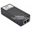 Wi-Tek WI-POE51-48V: 1 портов PoE инжектор за захранване на IP камери с 1 x 10/100/1000 Mbps PoE порт + 1 x 10/100/1000 Mbps uplink порт, DC48V - до 30 W