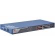 HIKVISION DS-3E1318P-EI: Управляем 18 портов суич с 16 x 10/100 Mbps PoE порта + 2 x 1 Gbps  combo uplink порта (2 cooper + 2 SPF), до 30 W на порт. Общ PoE капацитет 230 W