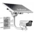 Автономна 4G мрежова IP камера със соларен фотоволтаичен панел, вградена литиева батерия, слот за SIM карта и слот за MicroSD карта: HIKVISION DS-2XS6A25G0- I/CH20S40 - 2 мегапиксела