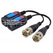 FOLKSAFE RX-HD501C - 1 канален пасивен 4K видео балун за пренос на видео сигнал по UTP кабел