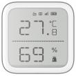 HIKVISION DS-PDTPH-E-WE: Безжичен температурен детектор, LED дисплей 2.7 инча, обхват на работа -10 ~ +55 градуса по целзий
