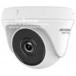 HD-TVI/AHD/CVI/CVBS куполна камера HIKVISION HWT-T120-P: 2 MPX 1920x1080, Обектив фиксиран 2.8 mm, Инфрачервено осветление: до 20 метра - EXIR технология