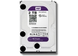 Твърд диск Western Digital 2 TB, WD20PURZ PURPLE серия, 3.5', 5400 rpm, 64 MB кеш, S-ATA3