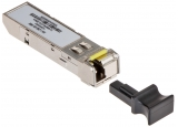 SFP оптичен модул HIKVISION HK-1.25G-20-1550: Single mode, Single fiber, 1.25 Gbps/20 km, LC сокет, TX1550nm/RX1310nm, 3.3V, Output power - 9~1 dBm