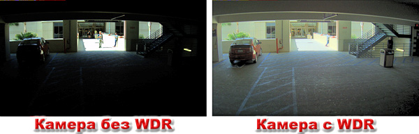 Камера с Wide Dynamic Range /WDR/ функция
